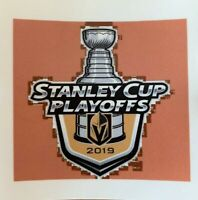"""2019 NHL STANLEY CUP PLAYOFFS 3"""" STICKER LAS VEGAS GOLDEN KNIGHTS SQUARE DECAL"""
