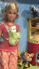 2006 I Can Be A Pet Sitter Barbie doll NRFB wit cat & dog dogs