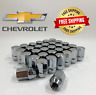 !!32 x 14MMX1.5 OEM/FACTORY STYLE CHROME LUG NUTS FITS CHEVY FREE SHIPPING!!🌀