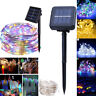 50/100/200 LED Solar String Fairy Light Waterproof Outdoor Garden Xmas Decor LOT