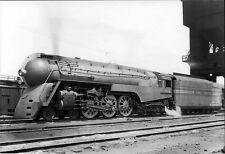 New York Central J3a  5446 Hudson Chicago Bullet Streamline Steam Train photo