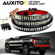 "LED Tailgate Light Bar 60"" Triple Row 5-Function Strip for Pickup Trailer SUV"