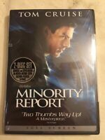 Minority Report - DVD (2-Disc Set) -Tom Cruise - **New & Sealed**