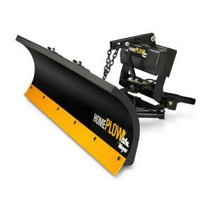 Meyer Products 25000 Home Plow Auto Angle -Clearing Long Driveways Fast Black