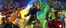 Avengers: Infinity War Movie Poster (17x40)-Thanos, Iron Man, Marvel Assemble v1
