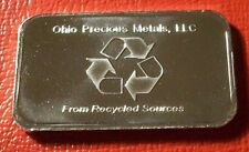 Ohio Precious Metals, L.L.C. Commercial Bar 1 Troy oz..999 Fine Silver