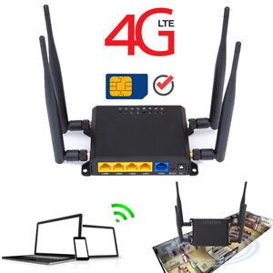 4G LTE Smart Router 300Mbps Extender SIM-Karte 5dbi Antenne Modem Qualcomm Chip