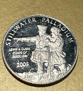 2005 Palladium 1/10oz Lewis & Clark Stillwater - Johnson Matthey