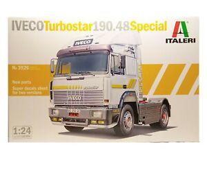 "Iveco TURBOSTAR 190 48 ""Special"" (ITALERI) kit montaggio scala 1:24"