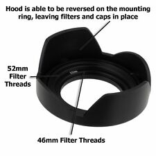 Fotodiox objetivamente solar diafragma-lens Hood kit Lumix G vario 14-42mm f/3.5-5.6 II