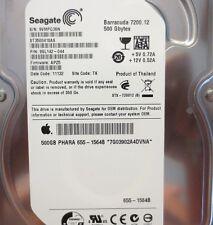 ST3500418AS 9SL142-044 FW:AP25 Apple#655-1564B 500gb Sata Hard drive