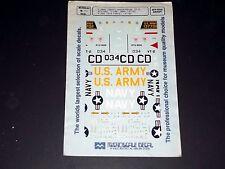 Microscale Decals 48111 1/48 T-28B Trojans Bicentenial / Army