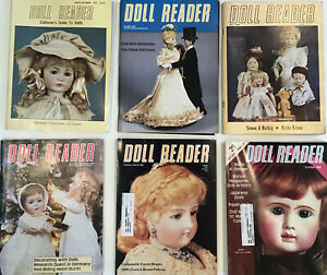 Vintage Lot Of 6 Doll Readers 1980's