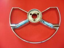 Used OEM 1949-52 GM Chevrolet Butterfly Chrome Steering Wheel Horn Ring # 757516
