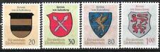 Liechtenstein Nr.450/53 ** Wappen II 1965, postfrisch