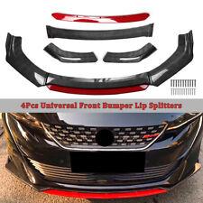 Carbon Fiber Universal Car Front Chin Bumper Lip Spoiler Splitter Scratch Guard (Fits: Scion tC)