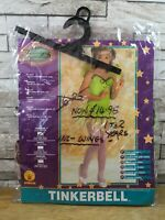 TINKERBELL GREEN FAIRY FANCY DRESS COSTUME AGE 1 - 2 NEW IN PACKET