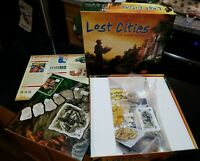 LOST CITIES THE BOARD GAME by Rio Grande Games New opened item un-played mint!