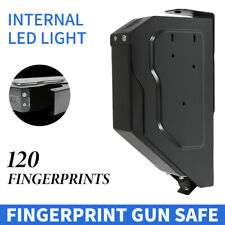 Biometric Lock Key Handgun Safe Box Vault Security Lock Fingerprint Recognition