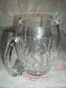 Tartan Crystal (OSPREY) FROM POLAND Beer Tankard Glass NO3018 580ML BNIB