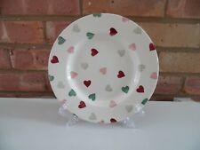 "Emma Bridgewater Pink & Green Hearts 8 1/2"" Plate - New"