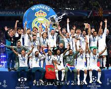 REAL MADRID 2018 European Cup Champions - 8x10 Team Photo