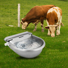 Automatic Drinking Water Bowl Farm Horse Cow Sheep Water Trough Waterer 4L 22cm