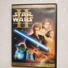 Star Wars Episode II: Attack of the Clones (DVD, 2002, 2-Disc Set, Widescreen)