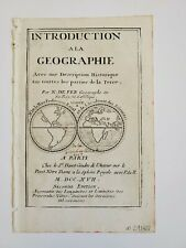 1717 Title Page Showing California As An Island, Geographie by Nicolas de Fer