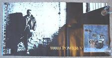 "RARE Larry Mullen Junior U2 Yamaha Power V POSTER, 20 x 40"" (51 x 101cm), Jr,Jnr"