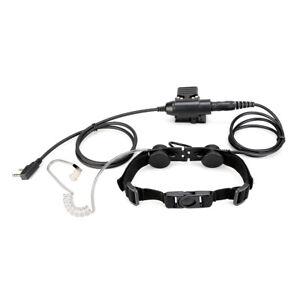Taktisches Kehlkopfmikrofon Kopfhörer for RT3S Baofeng UV5R UV82 Kenwood WOUXUN