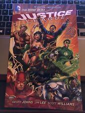 Justice League Vol. # 1 Origin DC Comics Graphic Novel Comic Book J296