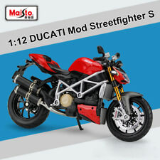 Motorcycle Toys DUCATI Mod. Streetfighter S Diecast Model 1/12 Scale BY Maisto