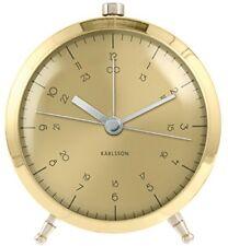 Karlsson reloj despertador de Botón Latón chapado en oro