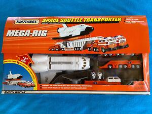 1997 Matchbox Mega-Rig Space Shuttle Transporter New In Box