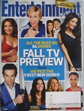 "JANE LYNCH ""GLEE""  Sept. 2010 ENTERTAINMENT WEEKLY Magazine DEXTER / 30 ROCK"