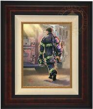 Thomas Kinkade Selfless Service 16 x 12 LE Gallery Proof Canvas (Burl Frame)