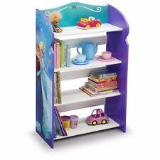 Kids Bookshelf Frozen Room Girls 4 Shelfs Bedroom Furniture Playroom Elsa New