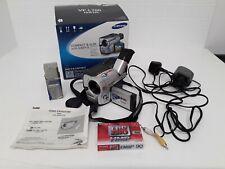 Samsung VP-L700 Hi8 PAL Camcorder Silver Working Box Adaptor Battery