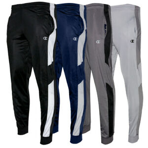Champion Men's Jogger Athletic Polyester Running Fitness Track Pants