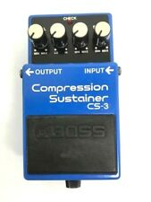 USED BOSS  Sustainer CS-3 Compression Sustainer F/S Japan