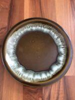 "Vintage Pfaltzgraff Pottery Gourmet Olive Drip Green 10"" Dinner Plates USA"