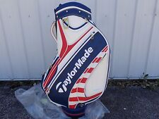 TaylorMade Golf US Open Limited Edition Tour Staff Golf Bag Red White & Blue NEW