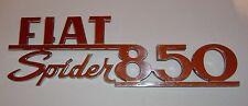 FIAT 850 SPIDER/ SCRITTA POSTERIORE/ REAR NAMEPLATE