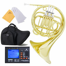 Cecilio 2 Series FH-280L Single French Horn F Key +Tuner