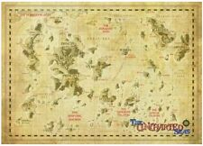 The Uncharted-Seas-Playmat-New Game Mat-Miniature Board Expansion-RPG-very rare