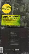 "YOM & WANG LI ""Green Apocalypse"" (CD Digipack) 2012 NEUF"
