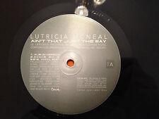 "LUTRICIA MCNEAL - Ain't Just The Way - 1997 PROMO 12"" Vinyl - RnB - NM vinyl"