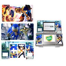 SONIC THE HEDGEHOG carcasa de vinilo adhesivo para Nintendo Ds original