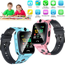 Kids Smart Watch Unlocked T-Mobile GSM SIM SOS Call LBS+GPS Location Tracker